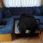 AM og IB Campingvogn sofa 2