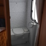 AM og IB Campingvogn toilet