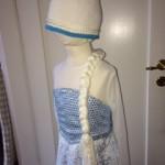 Frozen Frost Elsa Athea 2016 Kjole og huefletning 10