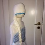 Frozen Frost Elsa Athea 2016 Kjole og huefletning 19