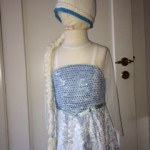 Frozen Frost Elsa Athea 2016 Kjole og huefletning 4