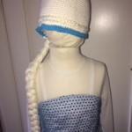 Frozen Frost Elsa Athea 2016 Kjole og huefletning 6