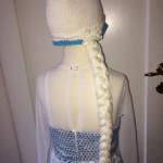 Frozen Frost Elsa Athea 2016 Kjole og huefletning 7