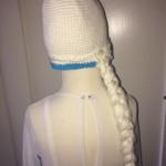 Frozen Frost Elsa Athea 2016 Kjole og huefletning 8