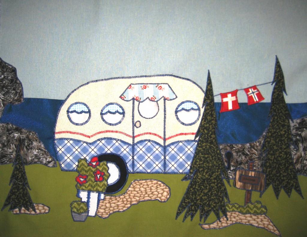 AM og IB Camping tæppe 11