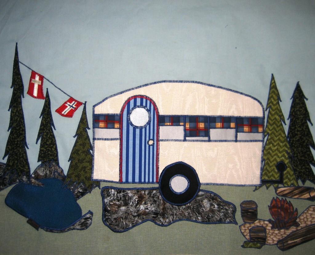 AM og IB Camping tæppe 7