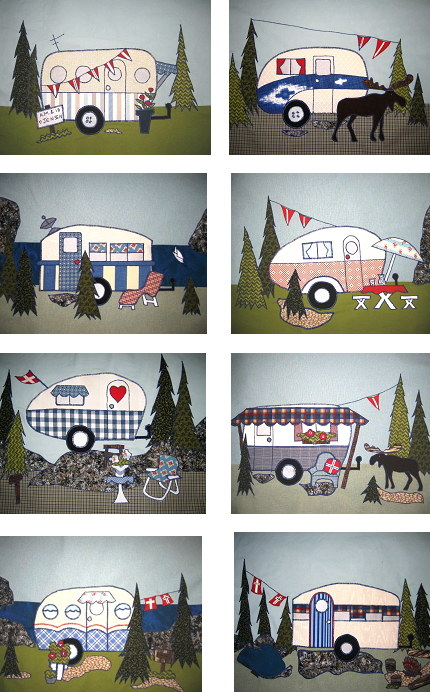 campingvogne-collage